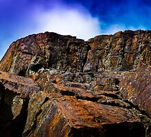 The Colored Cliffs of Halifax by Charles Plant