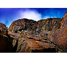 The Colored Cliffs of Halifax Photographic Print
