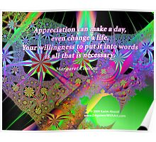 Appreciation Can Make A Day Poster