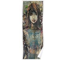 Girl In Dress Poster