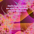 Small Opportunities by Kazim Abasali
