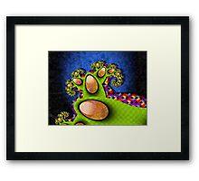 In a Bright Mood Framed Print