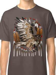 Flying Hawk Dreamcatcher Classic T-Shirt