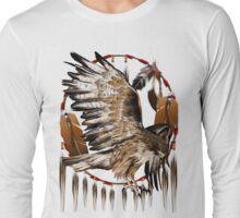Flying Hawk Dreamcatcher Long Sleeve T-Shirt