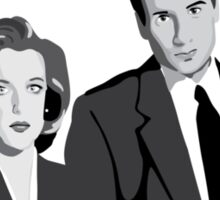 Enter the X-Files Sticker