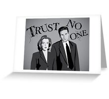 Enter the X-Files Greeting Card