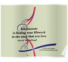 Finding your Lifework Poster