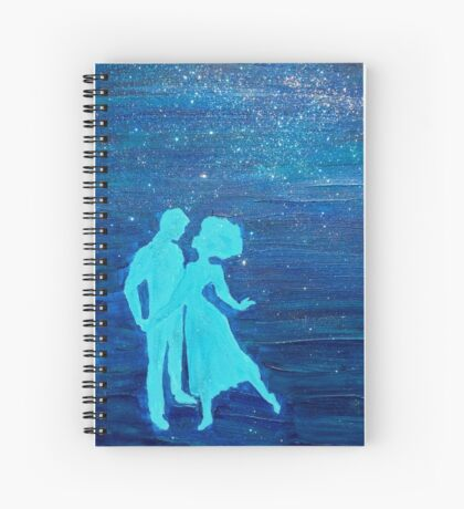 Dancing in the Stars Spiral Notebook