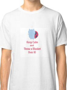 Keep calm cat-bug Classic T-Shirt