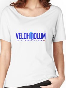 Velo Hoodlum - Blue Link USA Women's Relaxed Fit T-Shirt