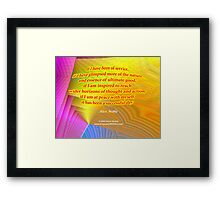 A Successful Day Framed Print