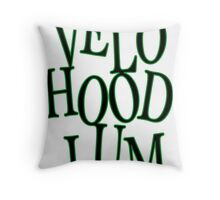 Velo Hoodlum - MOTIVES Throw Pillow