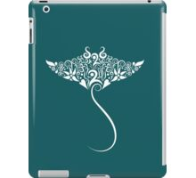 Stingray floral pattern iPad Case/Skin