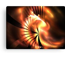 Flare Shell Canvas Print