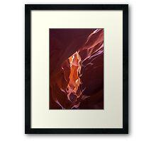upper antelope canyon 2 Framed Print