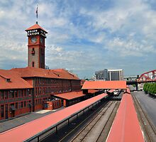 Portland Union Station by Bob Hortman