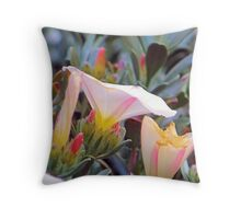 stages of elegence Throw Pillow