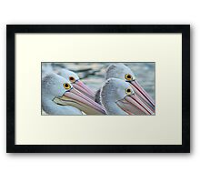 4 OF A KIND Framed Print