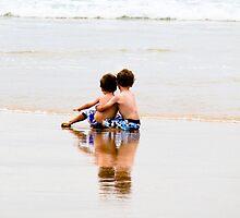 Brotherly Love, Port Kembla Beach NSW by Belinda Doyle