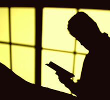 The sunset reader by Cleber Photography Design