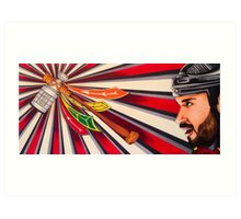 Brent Seabrook: Chicago Blackhawks Art Print