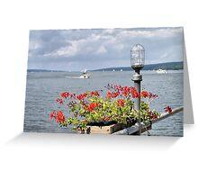 Seneca Harbor Greeting Card