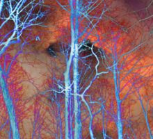 Ice Tree Abstract Sticker