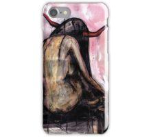 Horn Girl iPhone Case/Skin