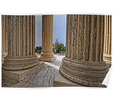 Supreme Court View of the US Capitol Poster