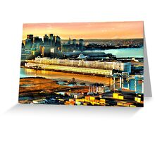 Boston Sea Cruise  Greeting Card