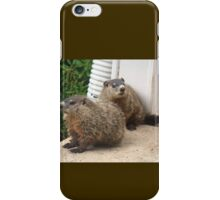 Act casual, pretend you don't see it. iPhone Case/Skin