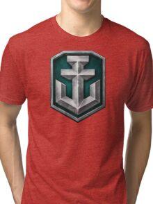 World of Warships Logo Tri-blend T-Shirt