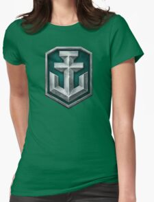 World of Warships Logo Womens Fitted T-Shirt