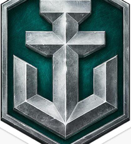 World of Warships Logo Sticker