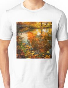 Reflection of the fall Unisex T-Shirt