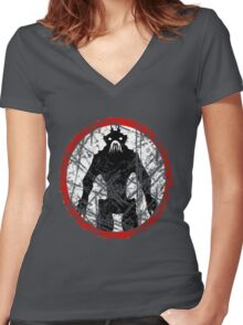 District 9 ( I.E.D. Edition.) Women's Fitted V-Neck T-Shirt