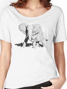 Bull Elephant Women's Relaxed Fit T-Shirt