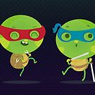Little turtles by mjdaluz