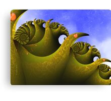 The Sea Monster Canvas Print