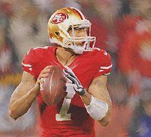 NFL - 49ers - Colin Kaepernick by kyddco