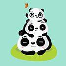 Panda pile by mjdaluz