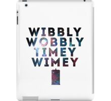Wibby Wobbly iPad Case/Skin