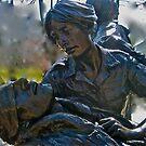 Vietnam Womans Memorial by Marita McVeigh