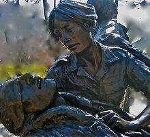 Vietnam Womans Memorial by Marita McVeigh