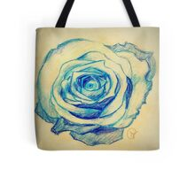 Portrait of the Blue Queen Tote Bag