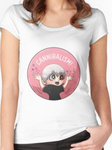 Cannibalism! Women's Fitted Scoop T-Shirt