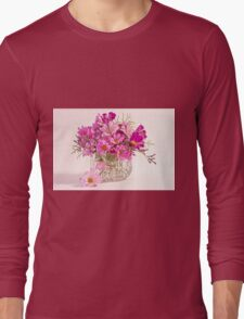 Cosmos - Summers Last Bouquet  Long Sleeve T-Shirt