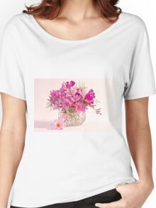 Cosmos - Summers Last Bouquet  Women's Relaxed Fit T-Shirt