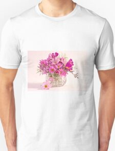 Cosmos - Summers Last Bouquet  T-Shirt