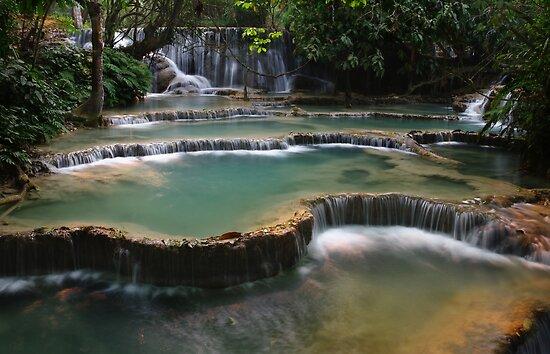 Waterfall Cascades by openyourap